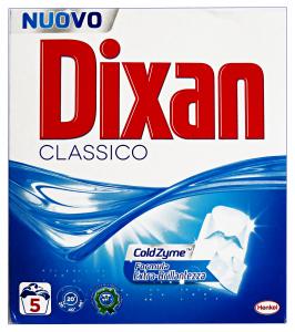 DIXAN Lavatrice Polvere 5 Mis. 325 Gr. Detergenti Casa