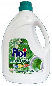 FLOI Lavatrice Liquido 25 MIS=3 Lt. Muschio Bianco Detergenti Casa