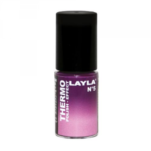 LAYLA COSMETICS Thermo Polish Effect N.5 Dark To Light Violet S - Offerta Speciale