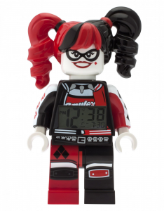 LEGO® Sveglia da tavolo BATMAN MOVIE HARLEY QUIN MINIFIGURE CLOCK