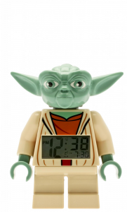 LEGO® Sveglia da tavolo STAR WARS YODA FIG CLOCK