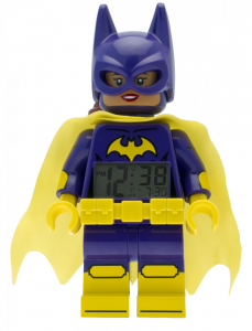 LEGO® Sveglia da tavolo BATMAN MOVIE BATGIRL MINIFIGURE CLOCK