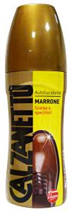 CALZANETTO Autolucidante Marrone 75 Ml Prodotto Per Scarpe E Calzature