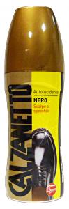 CALZANETTO Autolucidante Nero 75 Ml Prodotto Per Scarpe E Calzature