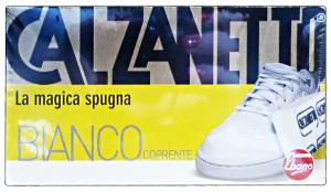 CALZANETTO Bianco coprente in spugna - linea scarpe
