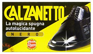 CALZANETTO Nero In Spugna Original Prodotto Per Scarpe E Calzature