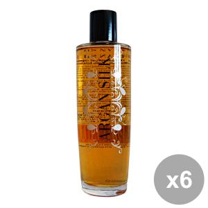 Set 6 Argan SILK Professionale Olio Fluido 100 Ml.  Prodotti per capelli