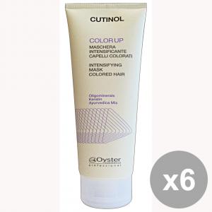 Set 6 CUTINOL Professionale COLOR UP Maschera Tubo 200 Ml.  Prodotti per capelli