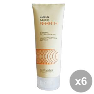 Set 6 CUTINOL Professionale REBIRTH Maschera 200 Ml. Prodotti per capelli