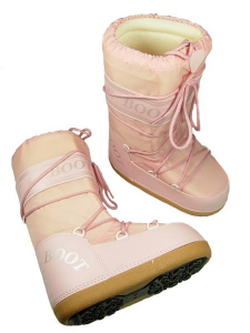 MYSNOW Doposci Boot Junior Rosa (Taglie 32-33-34) Neve Caldi Comodi Imbottiti