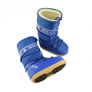 MYSNOW Doposci Boot Junior  Royal (Taglie 32-33-34) Neve Caldi Comodi Imbottiti