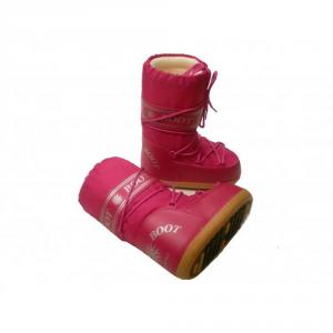 MYSNOW Doposci Boot Junior Fucsia (Taglie 32-33-34) Neve Caldi Comodi Imbottiti