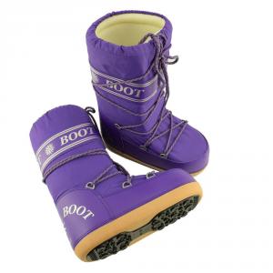 MYSNOW Doposci Boot Donna Viola (Taglie 35-36-37) Neve Caldi Comodi Imbottiti