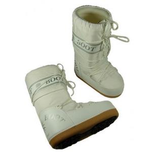 MYSNOW Doposci Boot Junior Bianco (Taglie 26-27-28) Neve Caldi Comodi Imbottiti