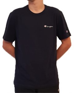 T-shirt con logo piccolo Champion