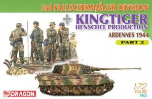 3rd Fallschirmjager Division + Kingtiger Henschel Production (Ardennes 1944) Part 2