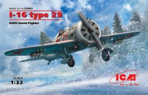 I-16 type 29, WWII Soviet Fighter