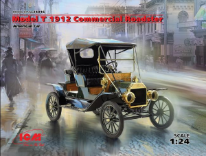 Model T 1912 Commercial Roadster, American Car