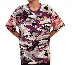 T-shirt camouflage Sfera Ebbasta