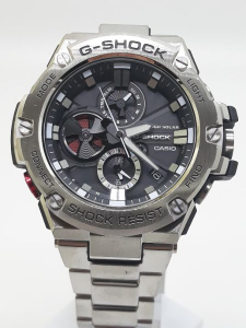 Orologio Casio Uomo G-SHOCK GST-B100D-1AER Bluetooth, vendita on line | OROLOGERIA BRUNI Imperia