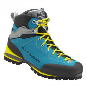 'GARMONT ASCENT GTX Scarpe trekking blu acqua / grigio chiaro goretex pedule'