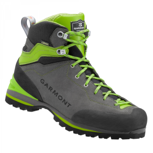 'GARMONT ASCENT GTX Scarpe trekking antracite / verde goretex pedule montagna'