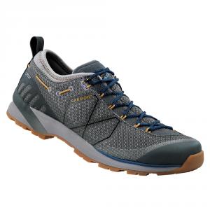 'GARMONT KARAKUM GTX Scarpe trekking goretex blu / grigio basse pedule montagna'