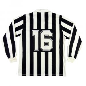 1989-90 Juventus Maglia Home Match Worn Primavera #16 XL