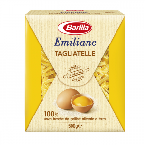 BARILLA Emiliane Tagliatelle All'Uovo 500 Grammi Pasta Made In Italy