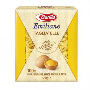 BARILLA Emiliane Tagliatelle All'Uovo 500 Grammi Pasta Made In Italy