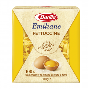 BARILLA Emiliane Fettuccine All'Uovo 500 Grammi Pasta Made In Italy