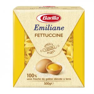 BARILLA Emiliane Fettuccine All'Uovo 500 Grammi Pasta Made In Italy