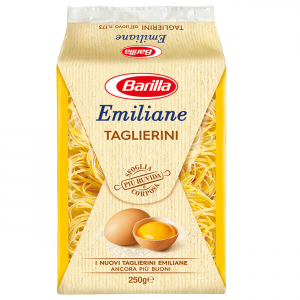 BARILLA Emiliane Taglierini All'Uovo 250 Grammi Pasta Made In Italy
