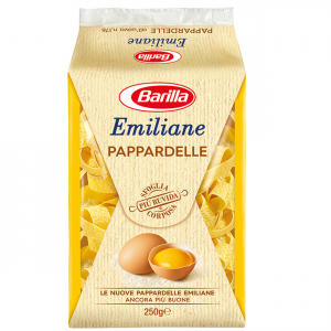 BARILLA Emiliane Pappardelle All'Uovo 250 Grammi Pasta Made In Italy