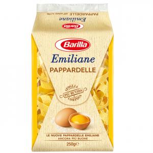 BARILLA Emiliane Pappardelle All'Uovo 250 Grammi Pasta Made In Italy