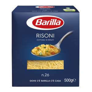 BARILLA I Classici Risoni N. 26 Cottura 11 Minuti 500 Grammi Pasta Made In Italy