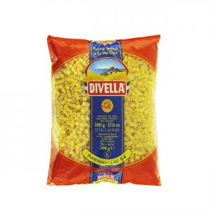 DIVELLA Paternosti Lisci 64 Da 500 Grammi Pasta Made In Italy