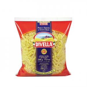 DIVELLA Paternosti Rigati 63 Da 500 Grammi Pasta Made In Italy