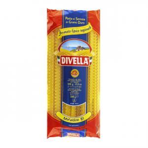 DIVELLA Mafaldine 81 Da 500 Grammi Pasta Made In Italy