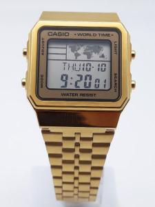 Orologio uomo e donna Casio Vintage Oro A500WEGA-9EF vendita on line | OROLOGERIA BRUNI Imperia