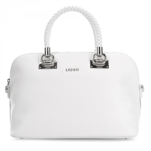 Hand and shoulder bag Liu Jo Anna A17082 E0087 Lily White