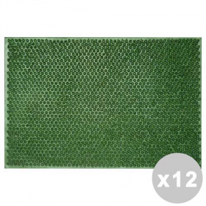 Set 12 Erba Zerbino 40X70 Cm. Tapgo0011 Tappeti