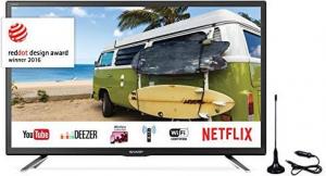 'SHARP Lc-24Cfg6132Em 24'' Fhd Stv Usb S2 Tv Televisore'