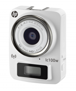 HEWLETT PACKARD HP Hp Lc-100W Whi 8Meg-1080P-80┬░ Wifi Fotocamera Supporti Accessori
