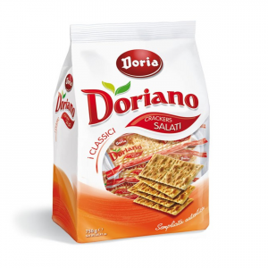 DORIA Crackers No Salati 700G Snack Merenda - Made In Italy