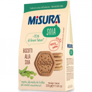MISURA Soy Biscuit Grammi 330 Colazione Merenda - Made In Italy