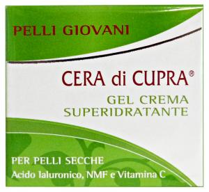 CERA DI CUPRA P.giovani crema vaso superidr.gel 50 ml. - Creme viso e maschere