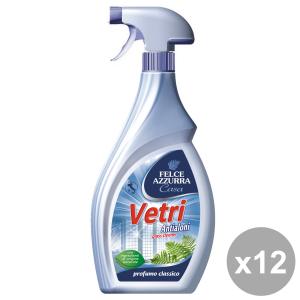 Set 12 FELCE AZZURRA Vetri TRIGGER 750 Ml.  Detergenti casa