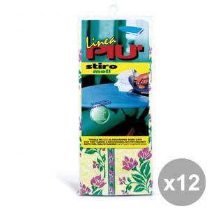LINEA Pi├╣ Set 12 StiroMOLL Telo Per Asse Da Stiro 140X55 Cm. ART.0442D Bucato