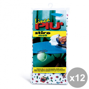 Set 12 LINEA PI├╣ Telo Per Asse Da Stiro 145X47 Cm. ART.0442B Bucato